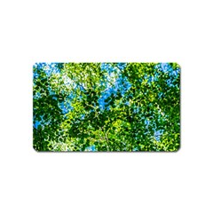 Forest   Strain Towards The Light Magnet (name Card) by FunnyCow