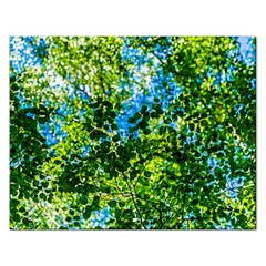Forest   Strain Towards The Light Rectangular Jigsaw Puzzl by FunnyCow