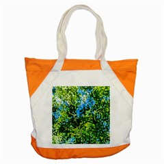 Forest   Strain Towards The Light Accent Tote Bag by FunnyCow