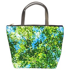 Forest   Strain Towards The Light Bucket Bags by FunnyCow
