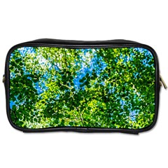 Forest   Strain Towards The Light Toiletries Bags 2 Side by FunnyCow