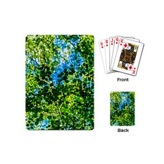 Forest   Strain Towards The Light Playing Cards (mini)  by FunnyCow