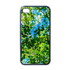 Forest   Strain Towards The Light Apple Iphone 4 Case (black) by FunnyCow