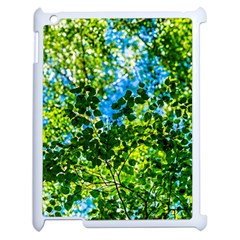Forest   Strain Towards The Light Apple Ipad 2 Case (white) by FunnyCow