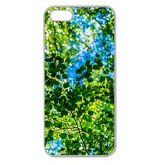Forest   Strain Towards The Light Apple Seamless Iphone 5 Case (clear) by FunnyCow