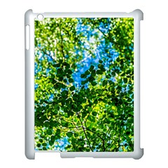 Forest   Strain Towards The Light Apple Ipad 3/4 Case (white) by FunnyCow