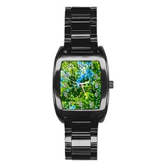 Forest   Strain Towards The Light Stainless Steel Barrel Watch by FunnyCow