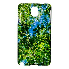 Forest   Strain Towards The Light Samsung Galaxy Note 3 N9005 Hardshell Case by FunnyCow