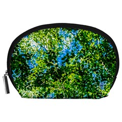 Forest   Strain Towards The Light Accessory Pouches (large)  by FunnyCow
