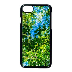 Forest   Strain Towards The Light Apple Iphone 8 Seamless Case (black) by FunnyCow