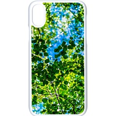 Forest   Strain Towards The Light Apple Iphone X Seamless Case (white) by FunnyCow