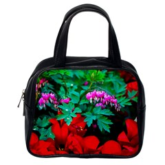 Bleeding Heart Flowers Classic Handbags (one Side) by FunnyCow
