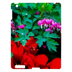 Bleeding Heart Flowers Apple Ipad 3/4 Hardshell Case by FunnyCow