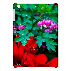 Bleeding Heart Flowers Apple Ipad Mini Hardshell Case by FunnyCow