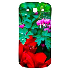 Bleeding Heart Flowers Samsung Galaxy S3 S Iii Classic Hardshell Back Case by FunnyCow