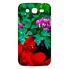 Bleeding Heart Flowers Samsung Galaxy Mega 5 8 I9152 Hardshell Case  by FunnyCow