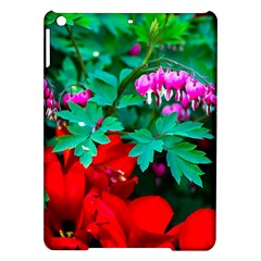 Bleeding Heart Flowers Ipad Air Hardshell Cases by FunnyCow