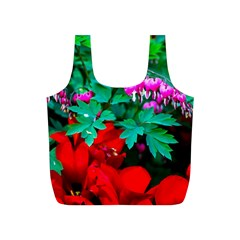 Bleeding Heart Flowers Full Print Recycle Bags (s)  by FunnyCow