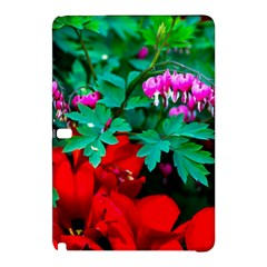 Bleeding Heart Flowers Samsung Galaxy Tab Pro 12 2 Hardshell Case by FunnyCow