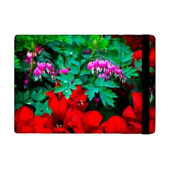 Bleeding Heart Flowers Ipad Mini 2 Flip Cases by FunnyCow