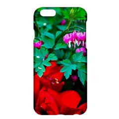 Bleeding Heart Flowers Apple Iphone 6 Plus/6s Plus Hardshell Case by FunnyCow