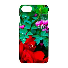Bleeding Heart Flowers Apple Iphone 8 Hardshell Case by FunnyCow