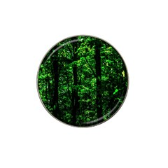 Emerald Forest Hat Clip Ball Marker by FunnyCow