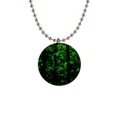Emerald Forest Button Necklaces by FunnyCow