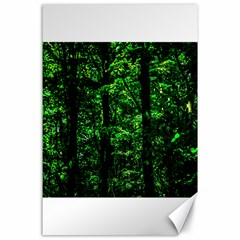 Emerald Forest Canvas 24  X 36  by FunnyCow