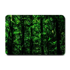 Emerald Forest Small Doormat  by FunnyCow
