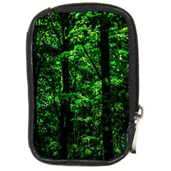 Emerald Forest Compact Camera Cases by FunnyCow