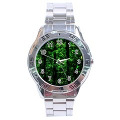 Emerald Forest Stainless Steel Analogue Watch by FunnyCow