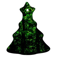 Emerald Forest Ornament (christmas Tree)  by FunnyCow
