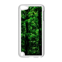 Emerald Forest Apple Ipod Touch 5 Case (white) by FunnyCow