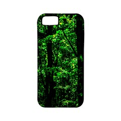 Emerald Forest Apple Iphone 5 Classic Hardshell Case (pc+silicone) by FunnyCow