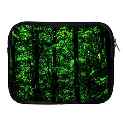 Emerald Forest Apple Ipad 2/3/4 Zipper Cases by FunnyCow