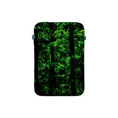 Emerald Forest Apple Ipad Mini Protective Soft Cases by FunnyCow