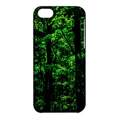 Emerald Forest Apple Iphone 5c Hardshell Case by FunnyCow