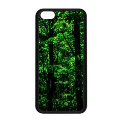 Emerald Forest Apple Iphone 5c Seamless Case (black) by FunnyCow