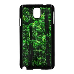 Emerald Forest Samsung Galaxy Note 3 Neo Hardshell Case (black) by FunnyCow