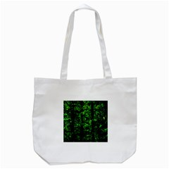 Emerald Forest Tote Bag (white) by FunnyCow