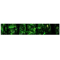 Emerald Forest Large Flano Scarf  by FunnyCow