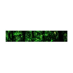 Emerald Forest Flano Scarf (mini) by FunnyCow