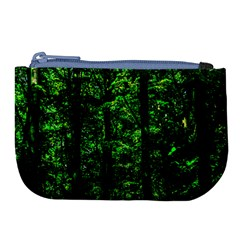 Emerald Forest Large Coin Purse by FunnyCow