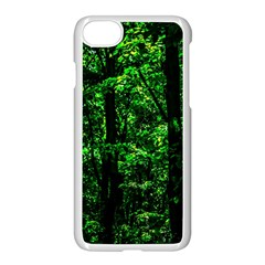 Emerald Forest Apple Iphone 8 Seamless Case (white) by FunnyCow