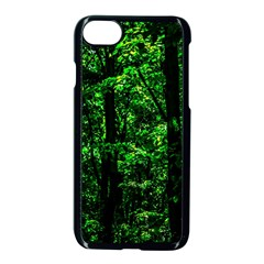Emerald Forest Apple Iphone 8 Seamless Case (black) by FunnyCow