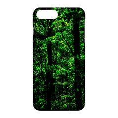 Emerald Forest Apple Iphone 8 Plus Hardshell Case by FunnyCow