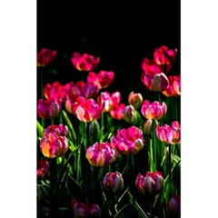 Pink Tulips Dark Background 5 5  X 8 5  Notebooks by FunnyCow