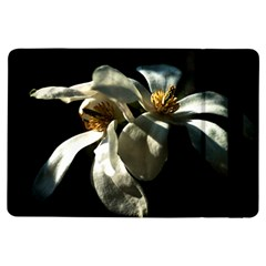 Two White Magnolia Flowers Ipad Air Flip by FunnyCow