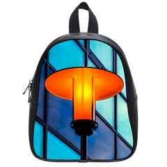 Orange Light School Bag (small) by FunnyCow